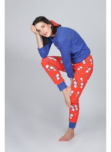 Hays Pijama Üst Lacivert